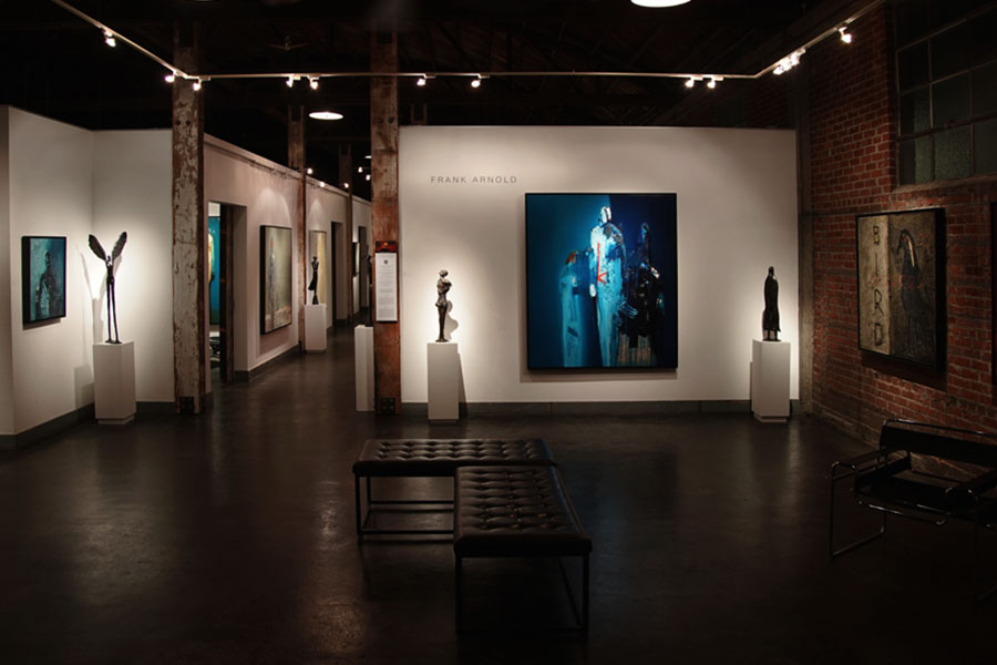 Frank Arnold Art Gallery, Artist in Cabo, Abstract Figurative Painter and Sculptor